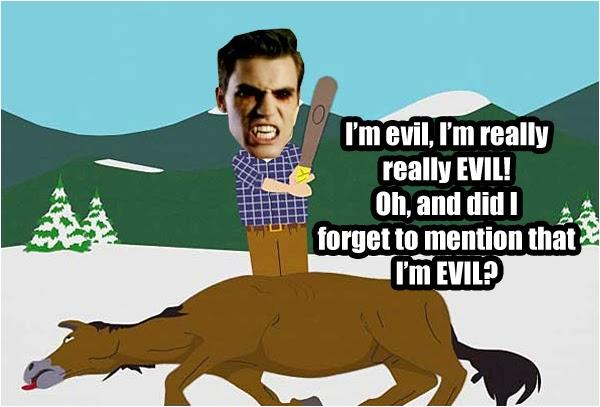 Stefan Salvatore Meme: Vampire Diaries Season 5 - I'm Evil
