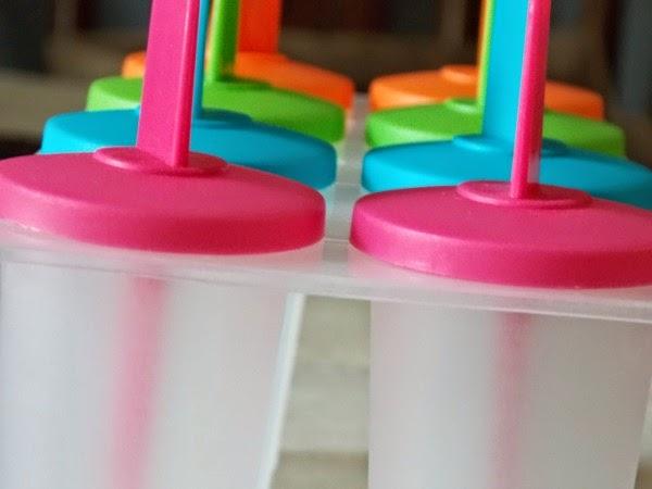 Catherine Denton: Peach Yogurt and Strawberry Popsicles