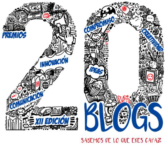 Blog FINALISTA en los Premios20Blogs
