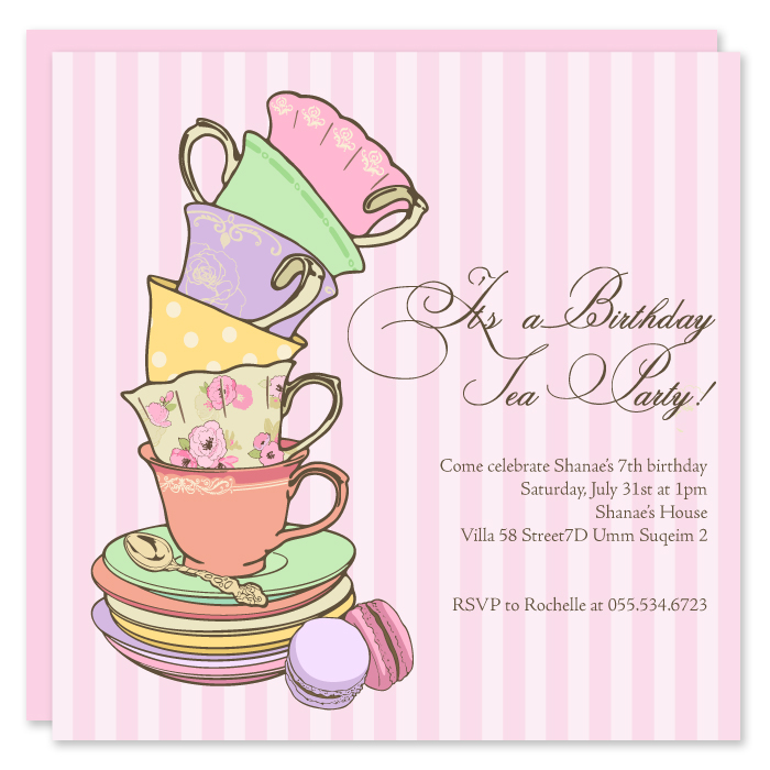 paper couture stationery  birthday invites