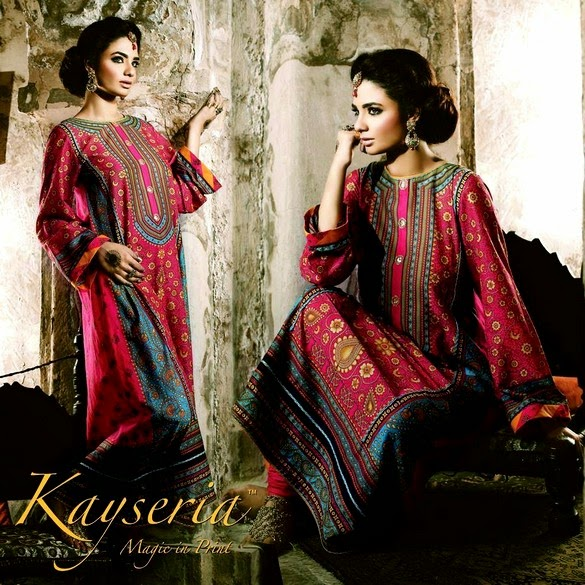 Rang-e-Mahrani Formal Eid Dress