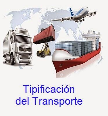 Tipificación  del Transporte