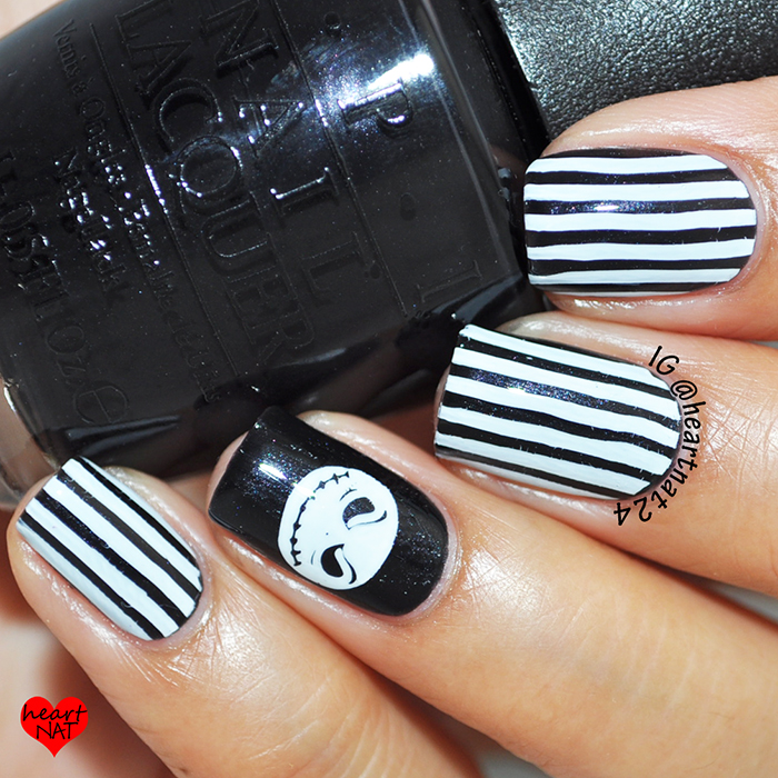 heartnat: Jack Skellington Nails