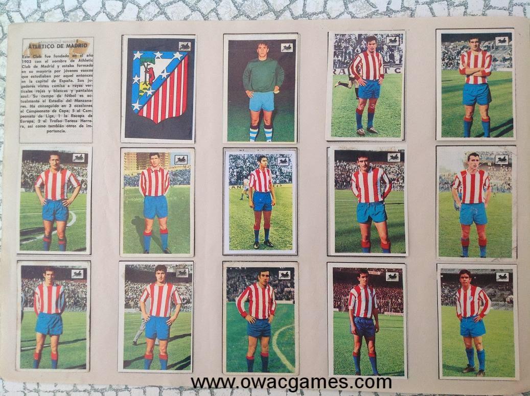 Atlético de Madrid 1969-70 Chocolates La Cibeles