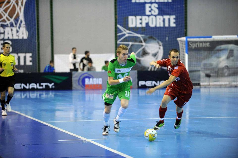A condução da bola no Futsal