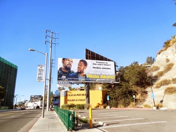 Ride Along movie billboard
