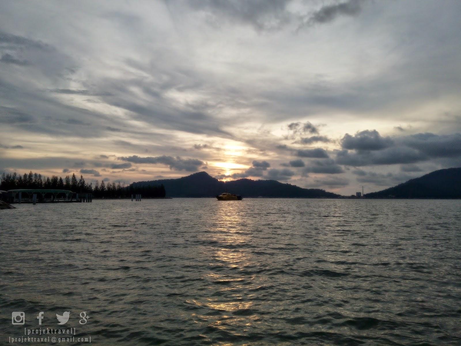 Marina Island Pangkor Di Atas Pulau Buatan