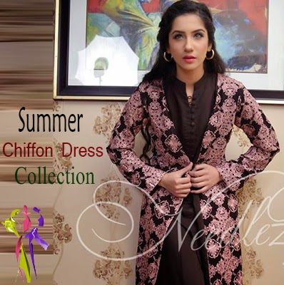 Needlez Summer Chiffon Dresses Collection