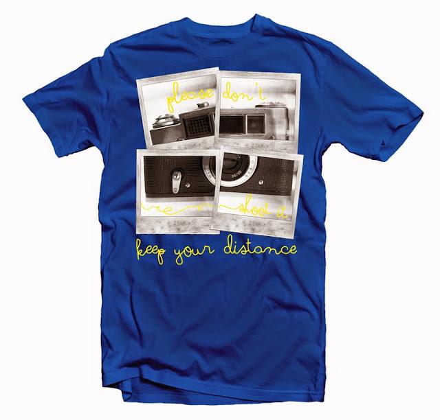 camera tshirts