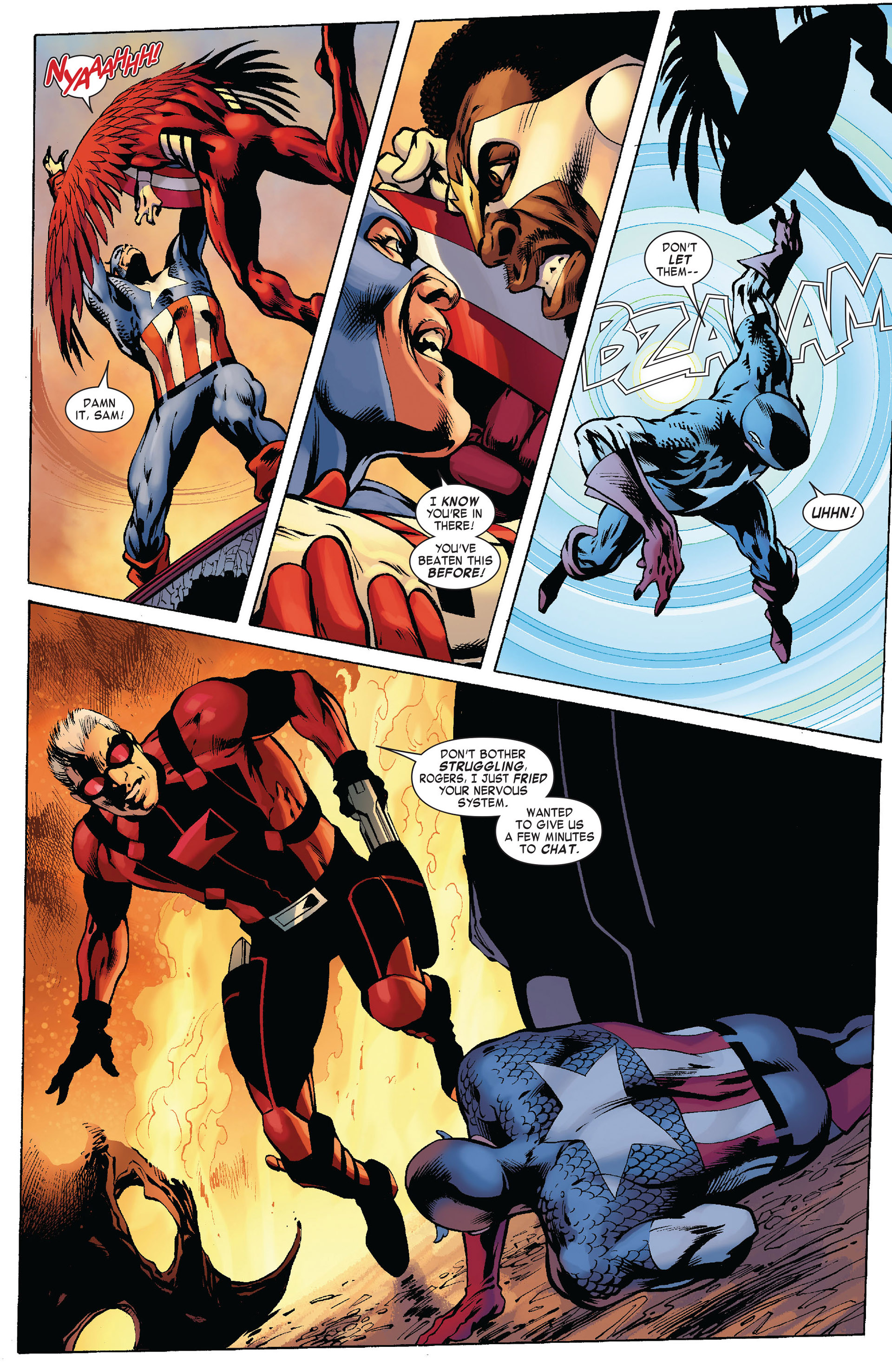 Captain America (2011) Issue #10 #10 - English 16