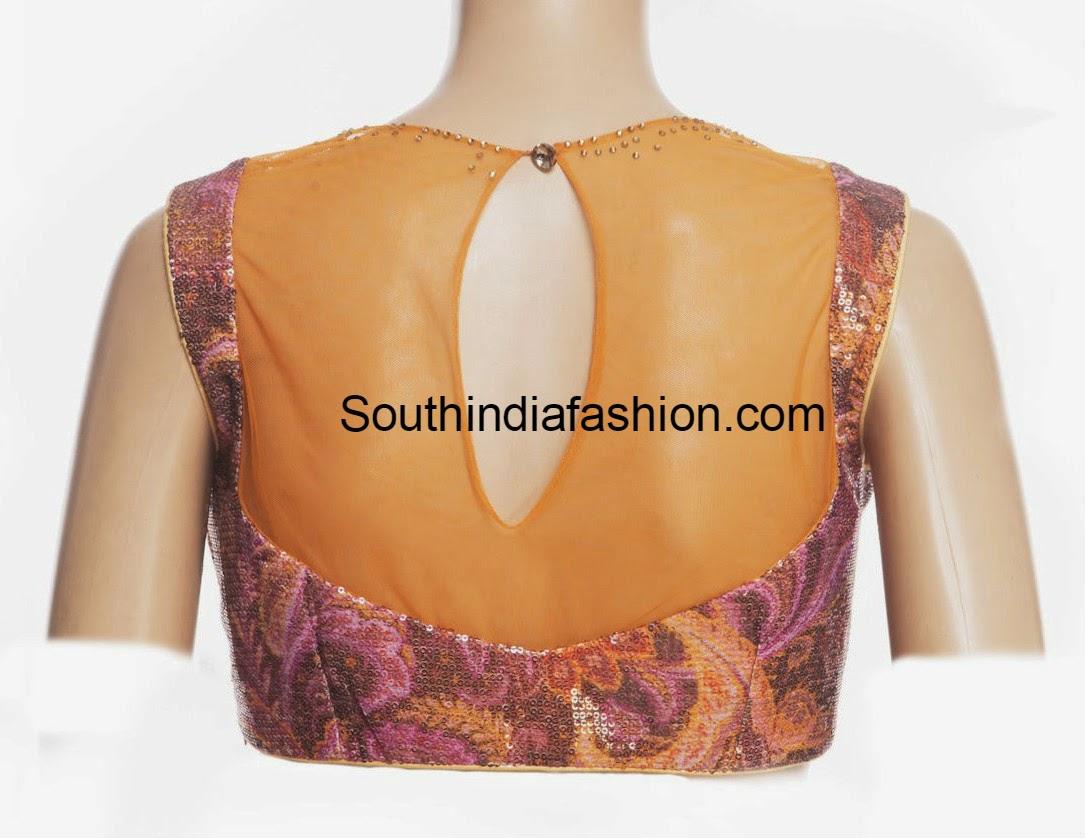 net back blouse deisgns