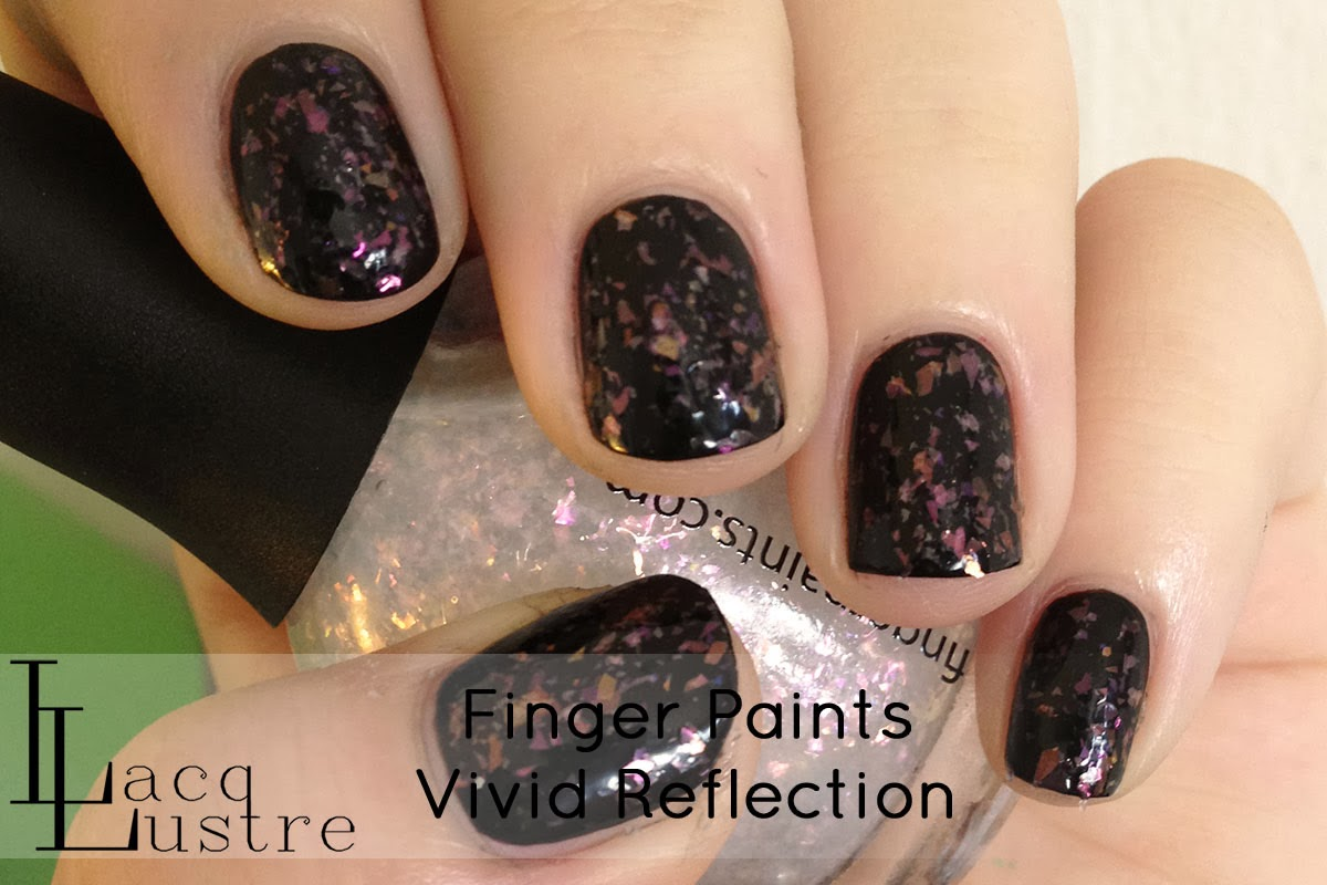 Finger Paints Vivid Reflection swatch