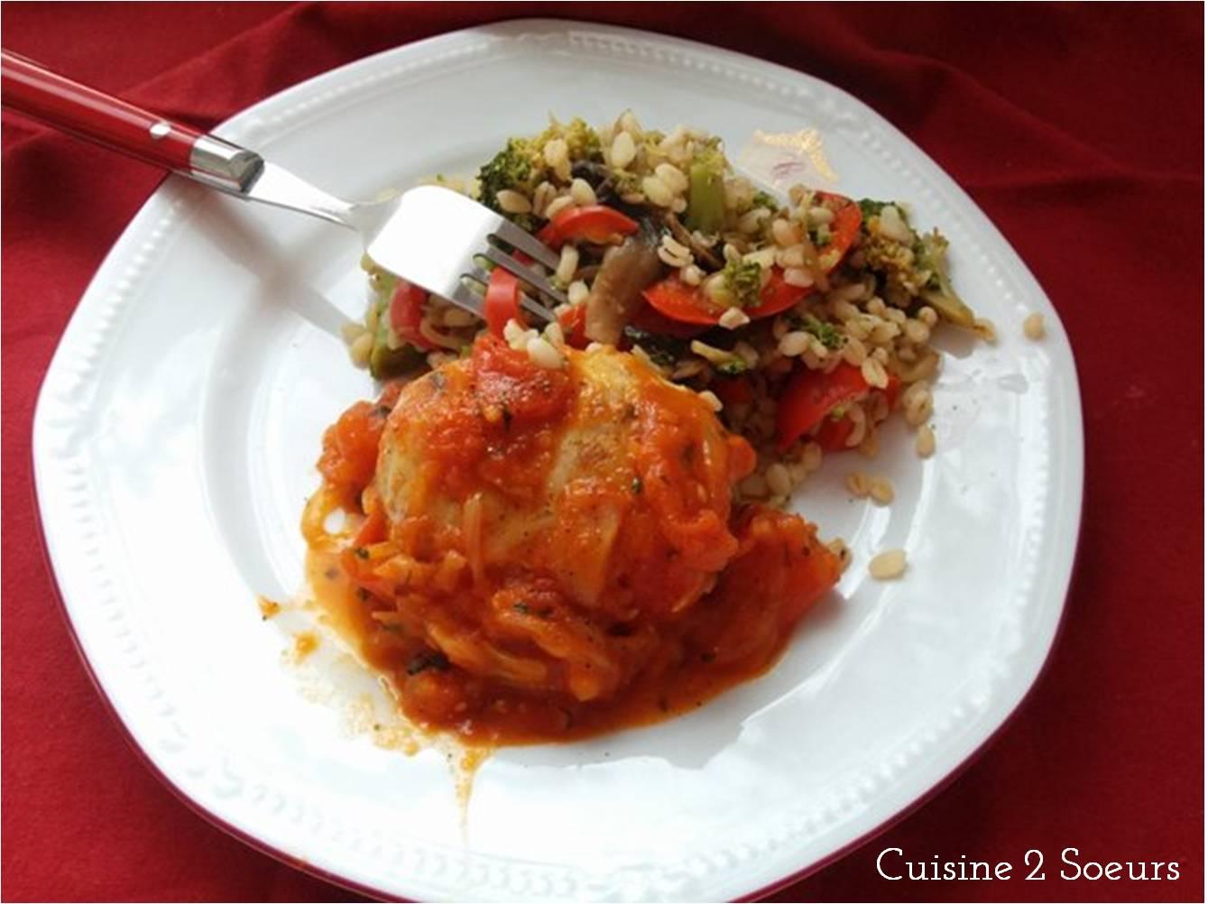 Cuisine 2 soeurs paupiette de veau la sauce tomate - Cuisine paupiette de veau ...