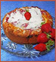 Strawberries Coffeecake!
