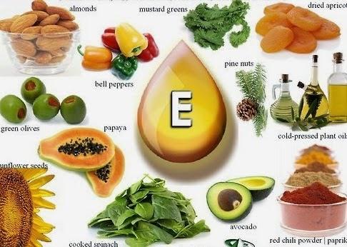 makanan vitamin e
