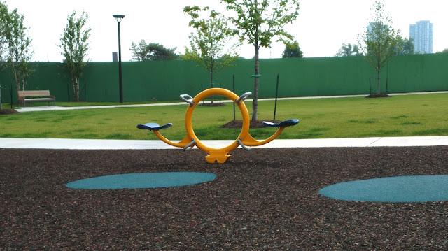 A Modern Day Playground see-saw