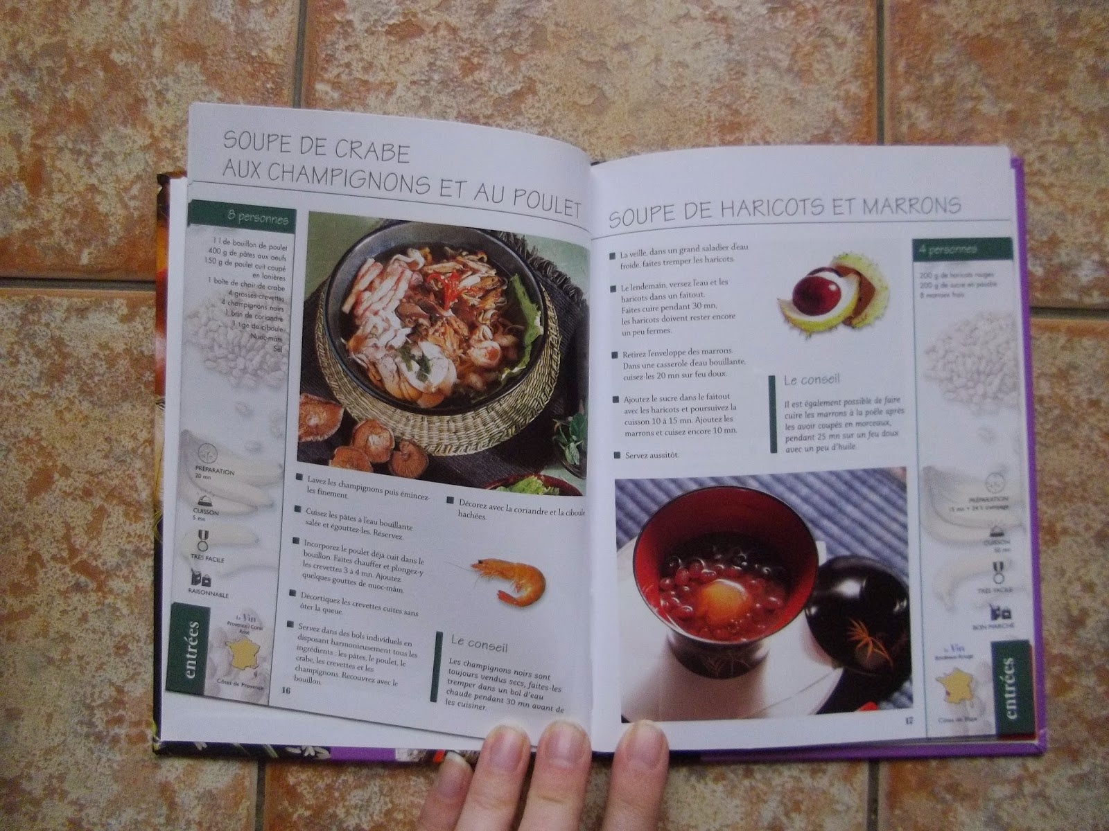 Amour d 39 enfants et ief livres trouv s en fouinant l 39 emma s - Livre cuisine asiatique ...