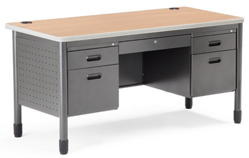 OFM Double Pedestal Desk