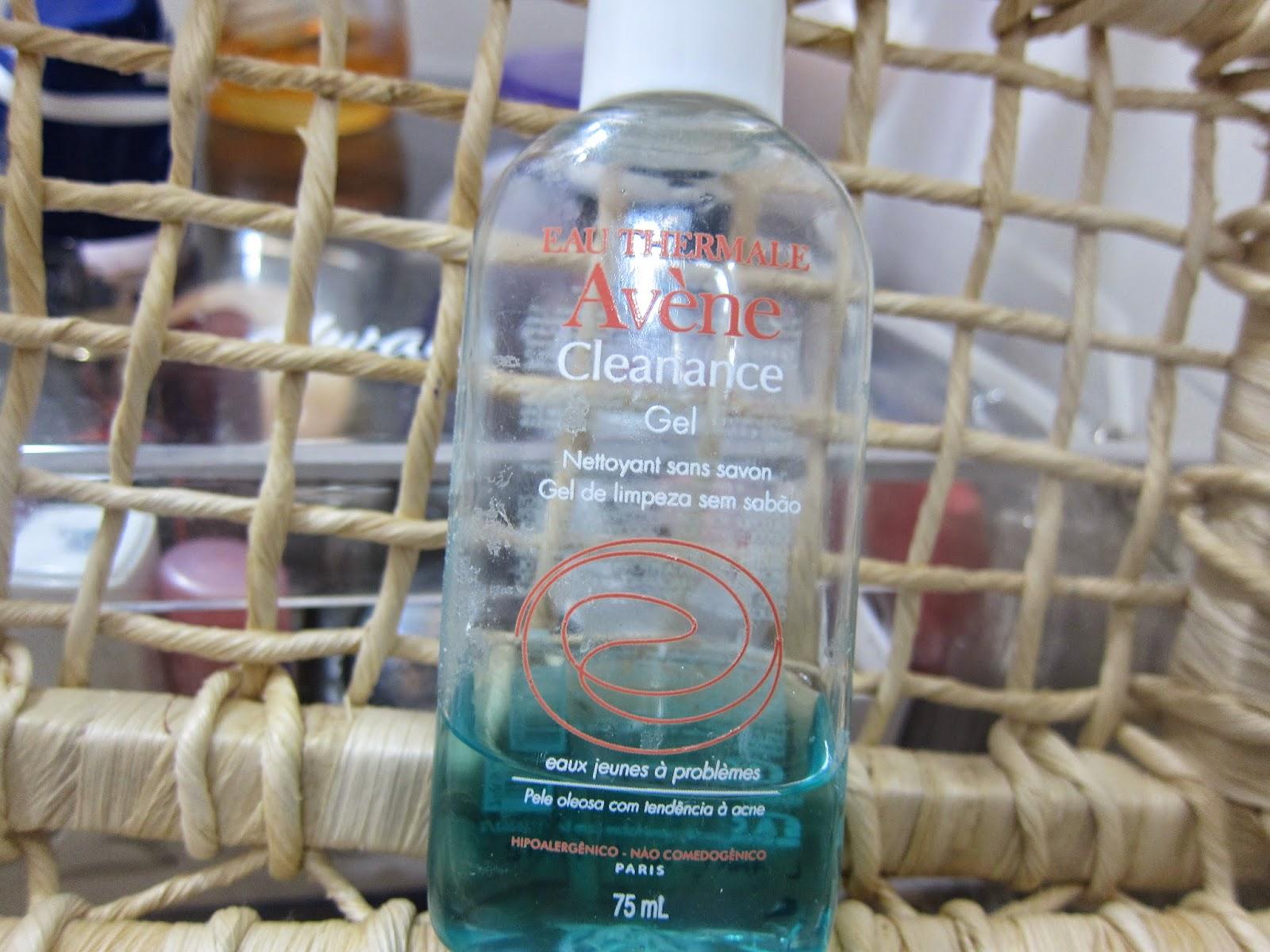 gel de limpeza  pele acne