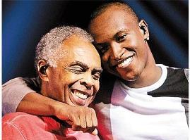 Thiaguinho e Gilberto Gil na trilha sonora de Sangue Bom