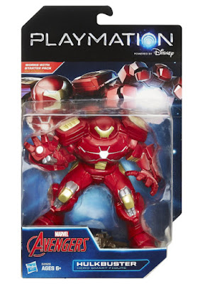 TOYS : JUGUETES - PLAYMATION  Marvel Avengers - Hulkbuster  Hero Smart Figure | Figura - Muñeco   Producto Oficial Disney 2015 | Hasbro B2829 | A partir de 6 años  Comprar en Amazon