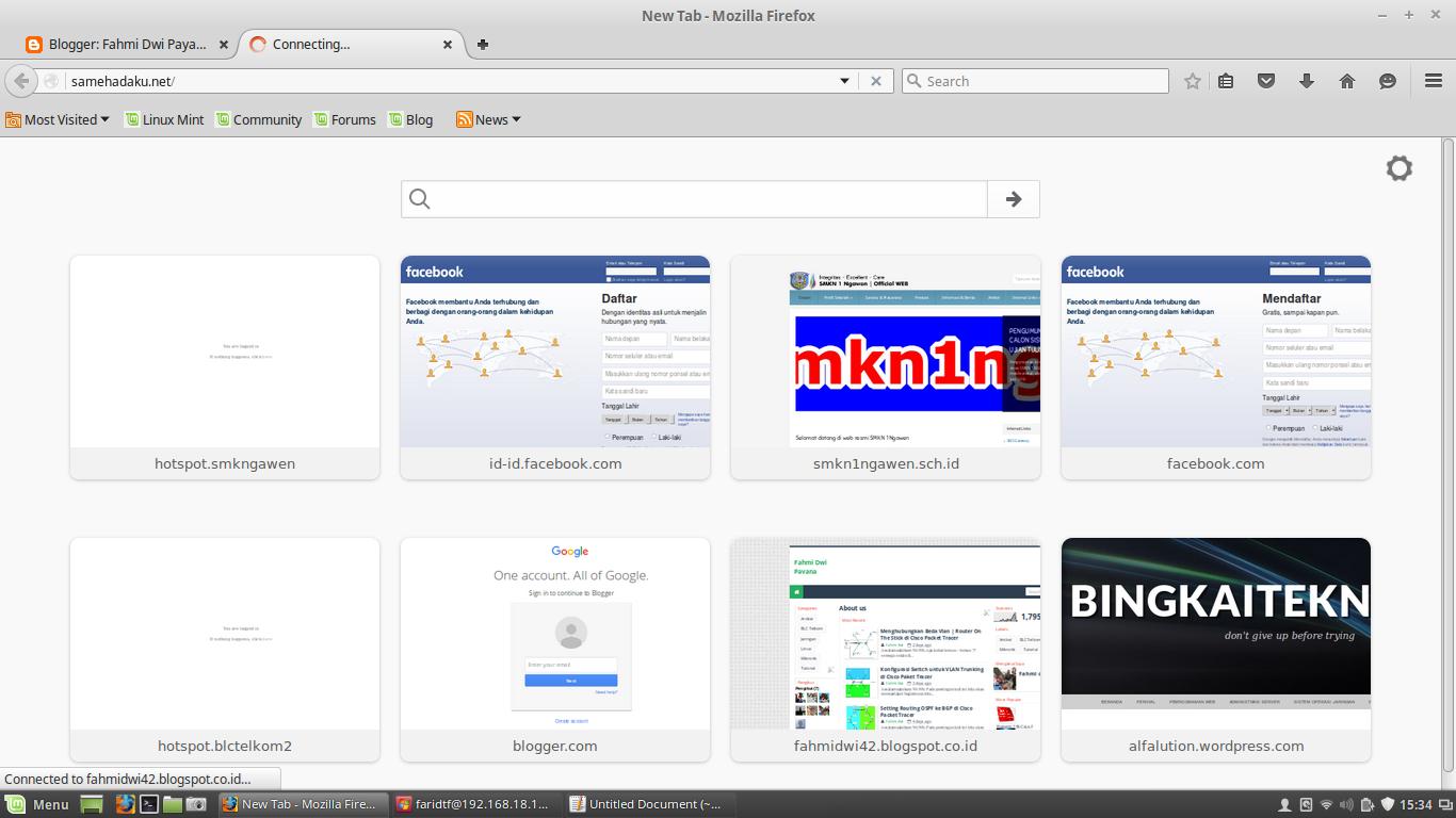 Block web dengan web proxy mikrotik