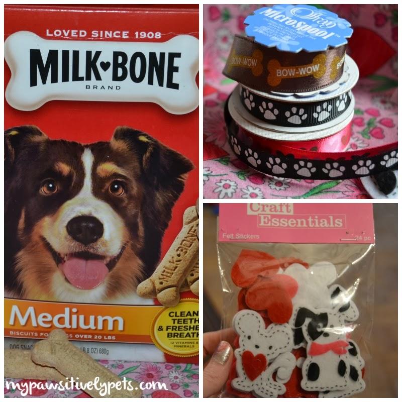 Valentine's Day Dog Crafts #MilkBoneLove