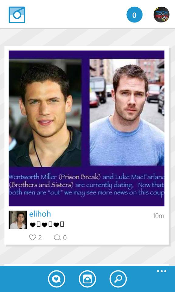 Wentworth miller dating luke macfarlane