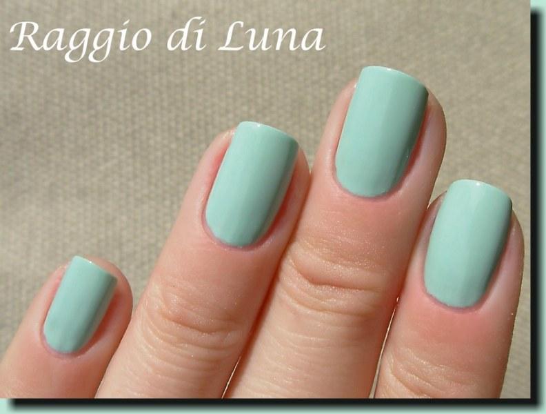 Raggio di Luna Nails: Kiko n° 345 Jade Green