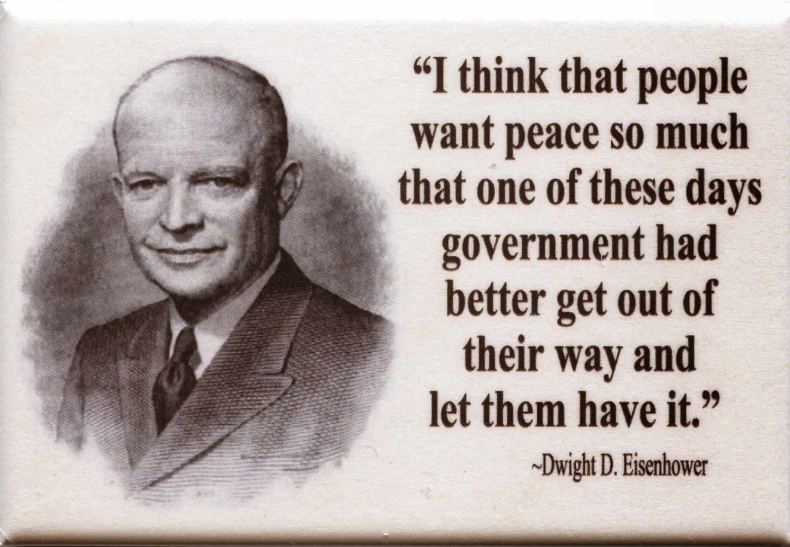 Dwight D.Eisenhower - US President