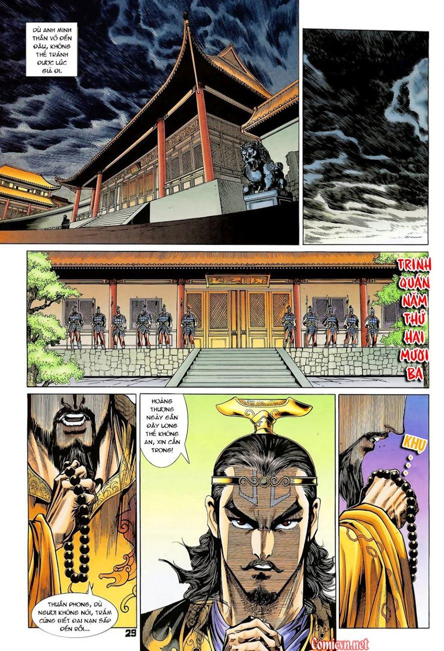 Thiên Tử Truyền Kỳ 4 – Đại Đường Uy Long chap 102 Trang 29