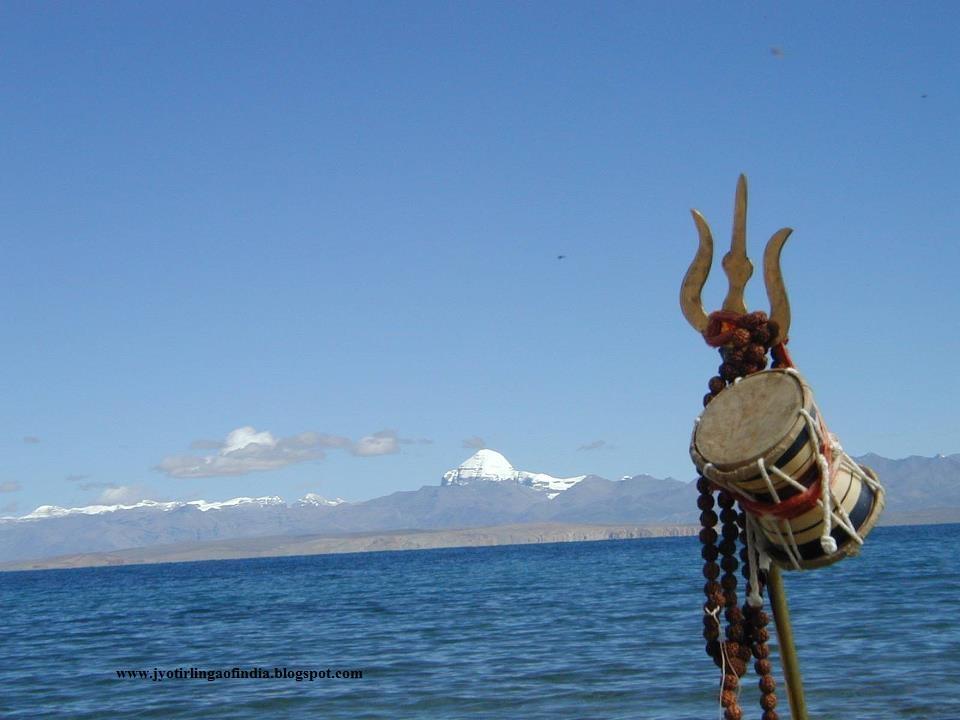 12 jyotirlinga trishul with damroo - Kailash mansarovar om ...