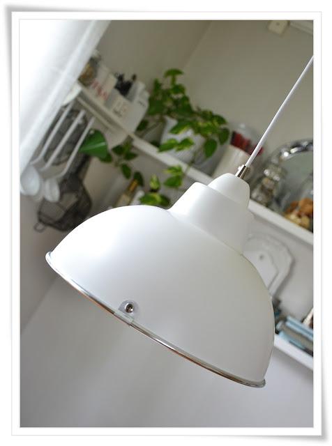 Fin Kokslampa : Tycker jottemycket om vor nya kokslampa (oven om mannen foredrar