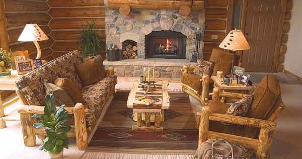 Decoracion de interiores estilo rustico living for Adornos para living rusticos