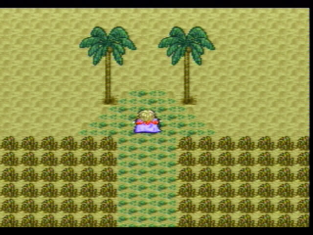 Ooh, maybe there's coconuts! Maybe the professor can build me a demon-slaying sword OUT of the coconuts! Maybe... maybe the desert heat is getting to me...
