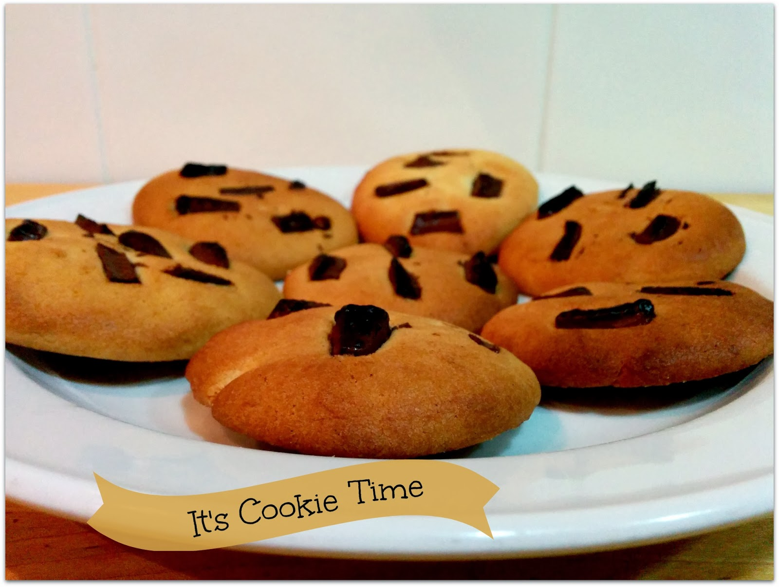It's cookie time - galletas de chocolate y vainilla