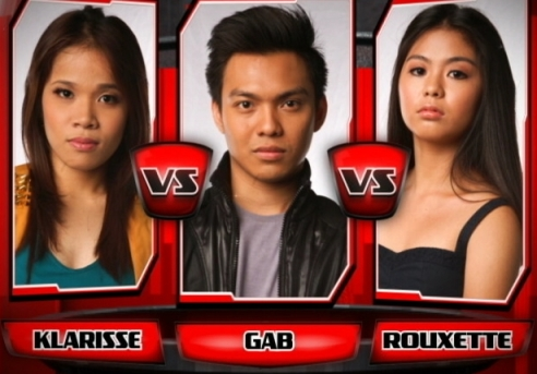 Klarisse de Guzman vs Gab Ramos vs Rouxette Swinton | The Voice of the Philippines Battle Rounds