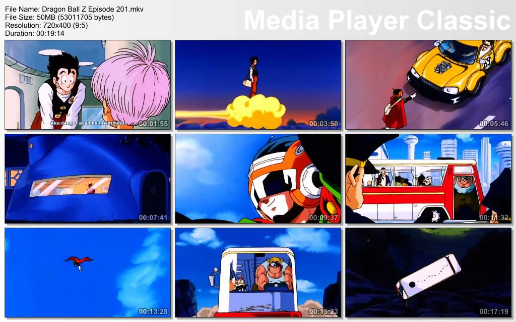 Download Film / Anime Dragon Ball Z Majin Buu Saga Episode 201 Bahasa