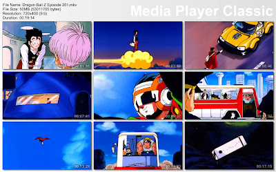 Download Film / Anime Dragon Ball Z Majin Buu Saga Episode 201 Bahasa Indonesia