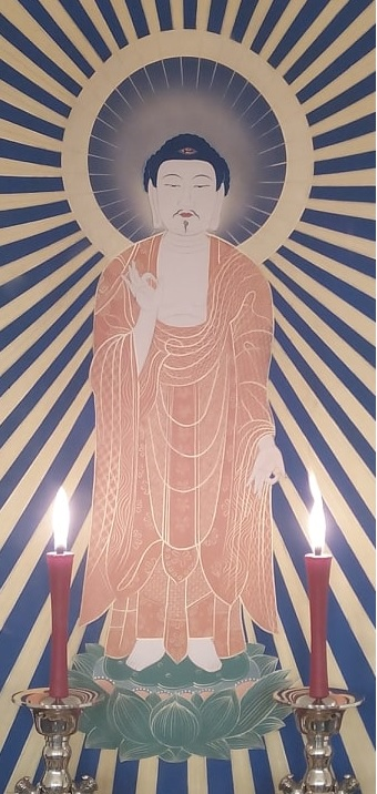 Amida Buddha and His Pure Land