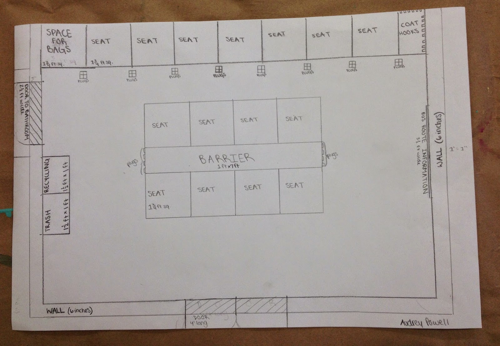 Plan Elevation Section Of Bus Stop : Csh brunswick school bus stop project