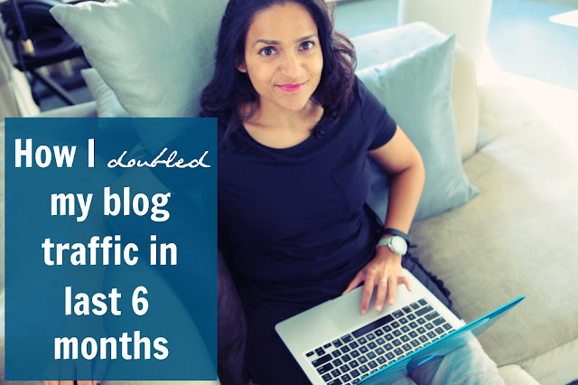 How I Doubled my Blog Traffic in SIX months, Tanvii.com