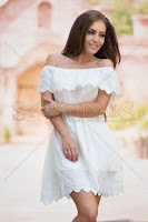Rochie PrettyGirl Towards White (PrettyGirl)