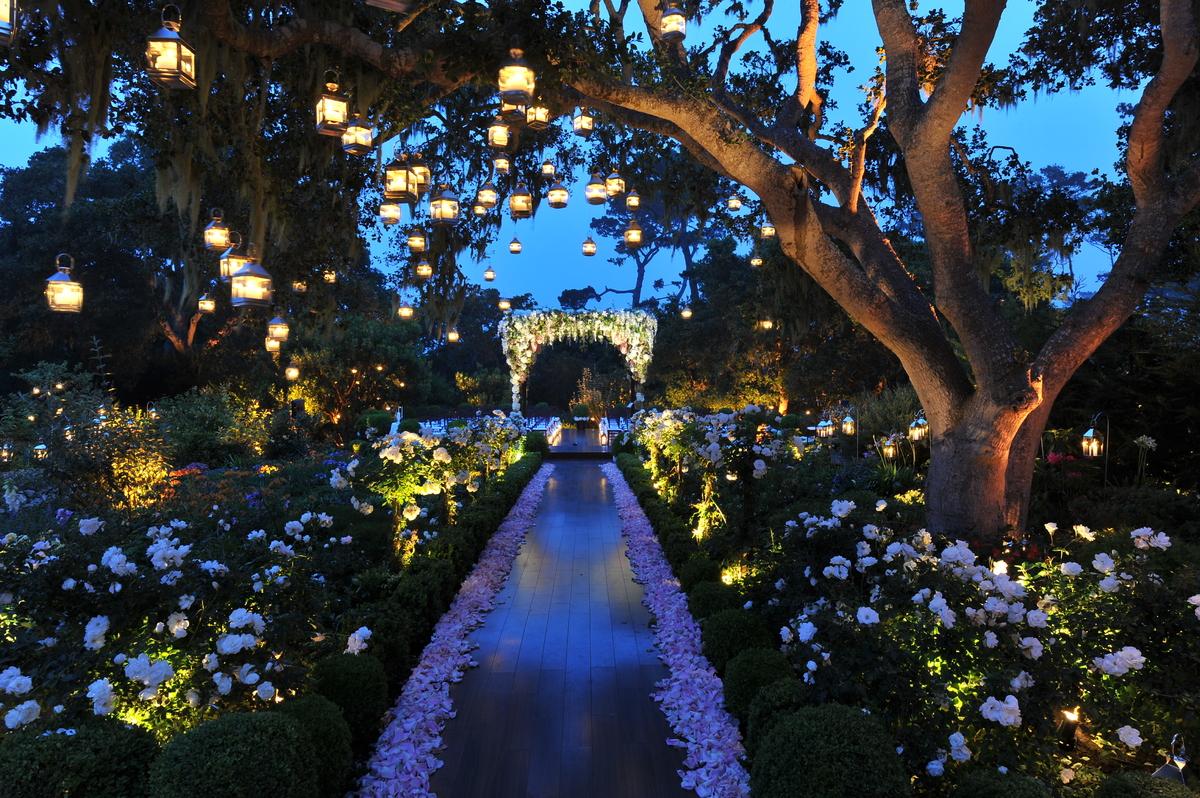 iluminación bodas