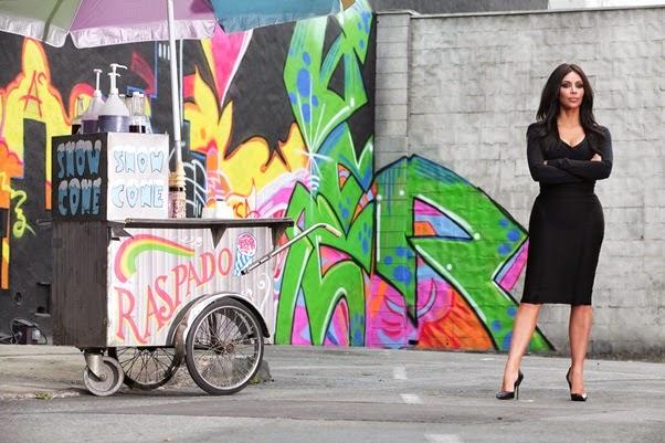 Coleção Kim Kardashian para C&A