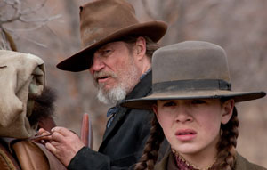 Jeff Bridges y Hailee Steinfeld  en Valor de ley (True Grit)