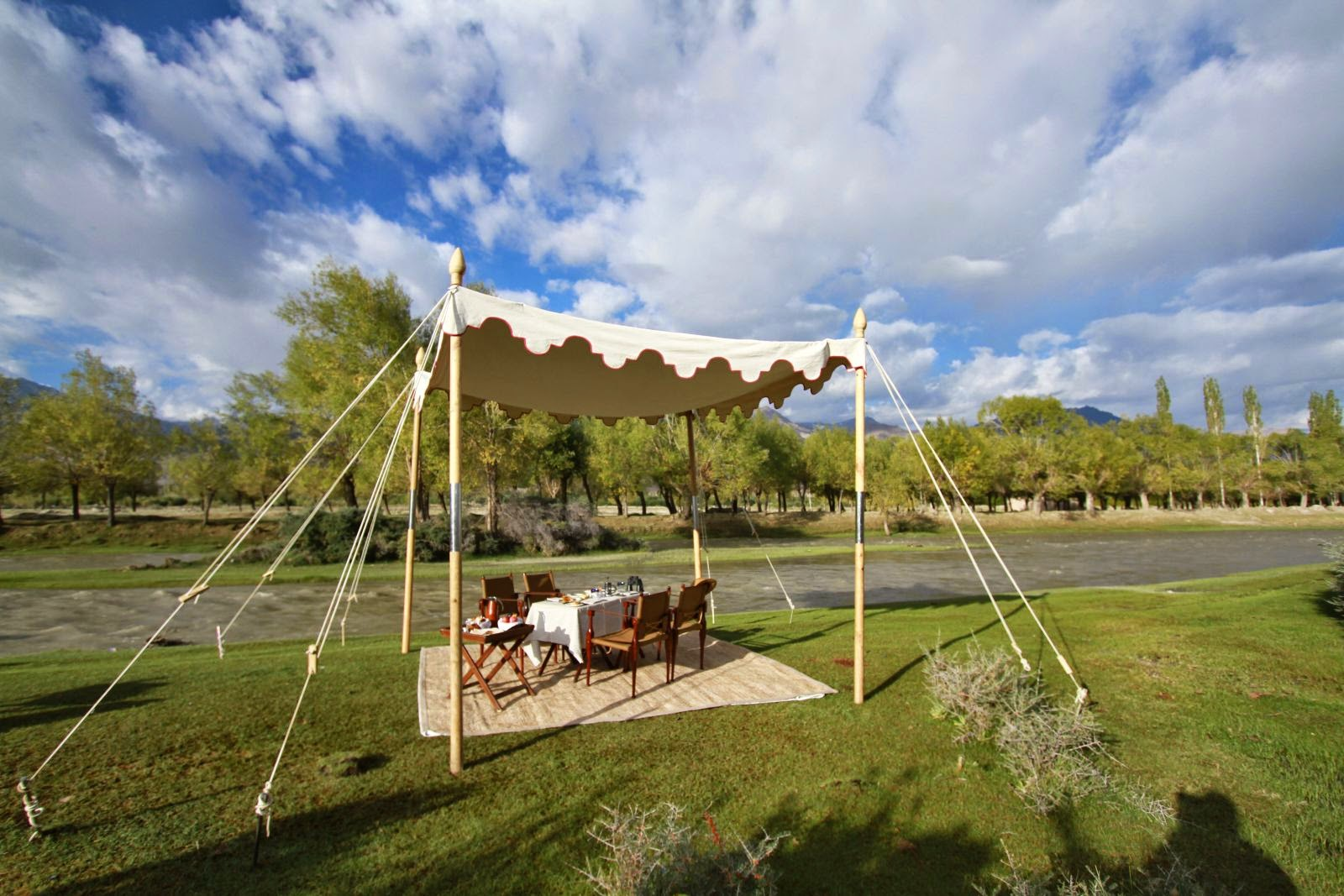 Picnic at the Ultimate Travelling Camp, Ladakh