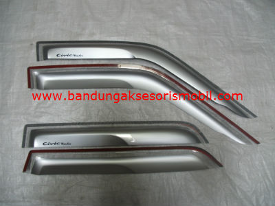 Talang Air Civic Wonder 84 - 87 Silver Mugen Depan Belakang