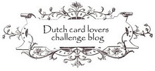 Dutch cardlovers challenge blog