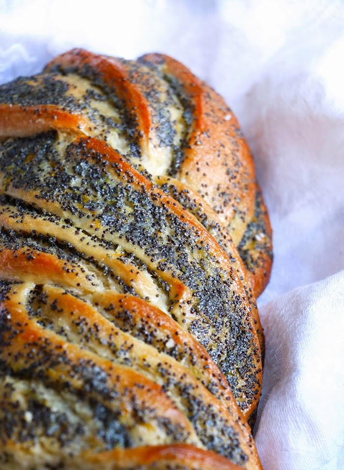 Pan de Cítricos y Semillas de Amapola - Pan de Pascuas